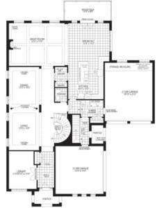 The Aspen Floorplan 1