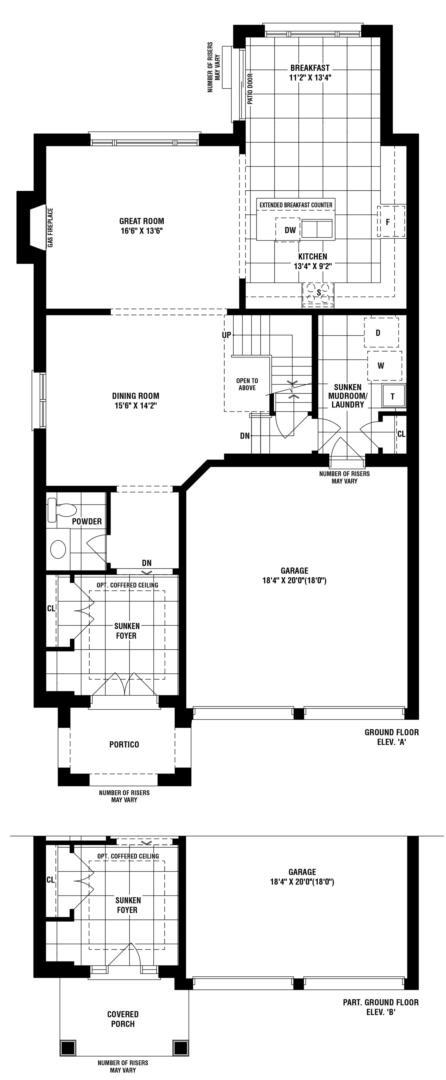 Black Creek Floorplan 1