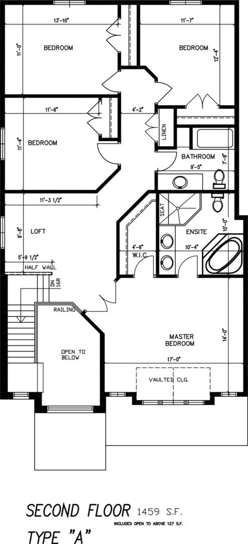 The Stone Ridge Floorplan 2