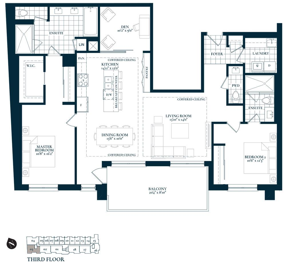 Bronte Floorplan 1
