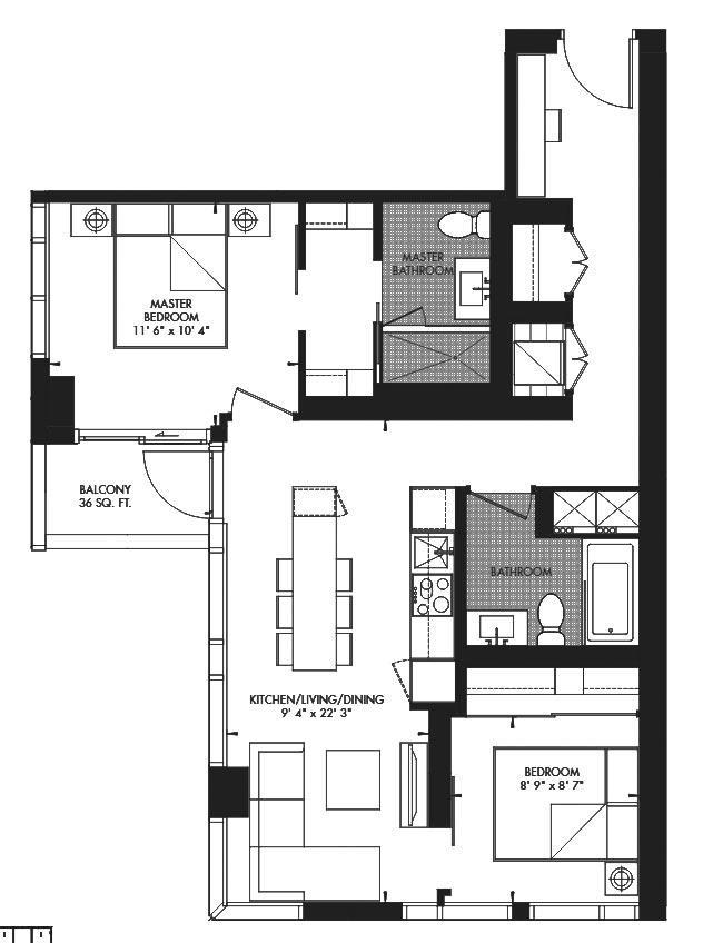 Yorkville 39 Floorplan 1