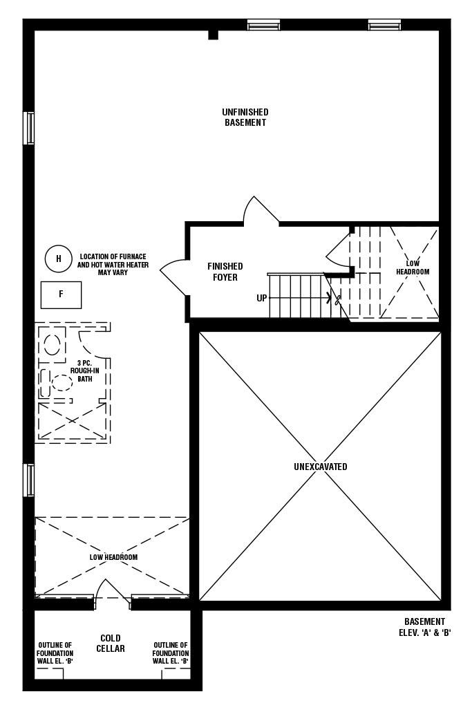 Astor (A) Floorplan 3