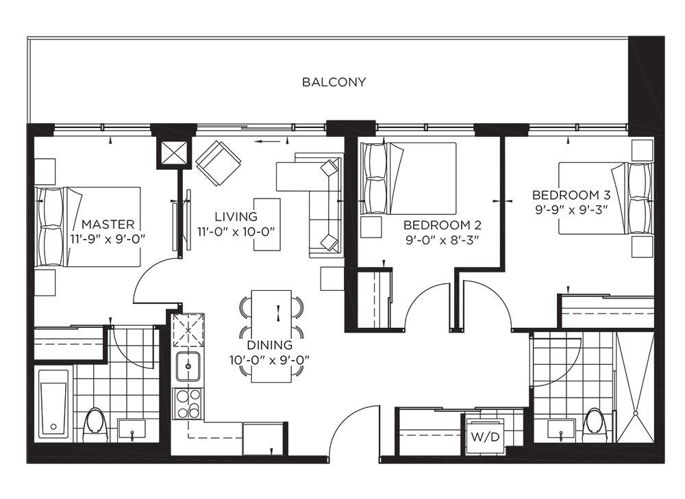 Garden Collection - Hepburn Floorplan 1