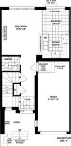 Lavender A Floorplan 1