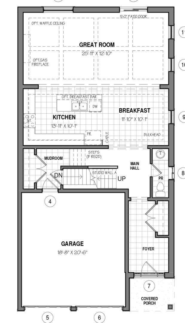 The Knight 34 IV A Floorplan 1