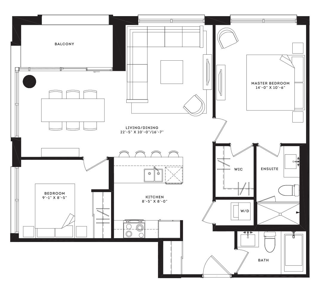 The Franklin Floorplan 1