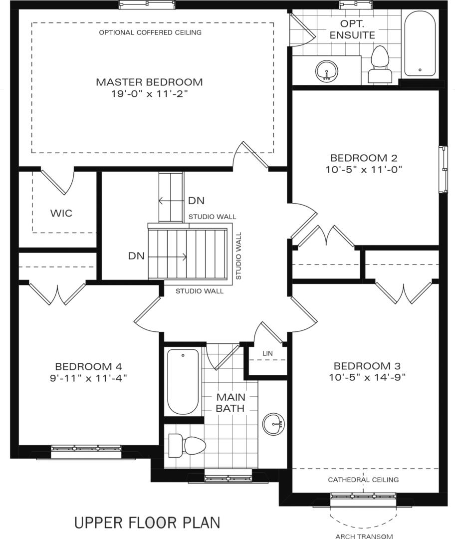 The Henderson II B Floorplan 2