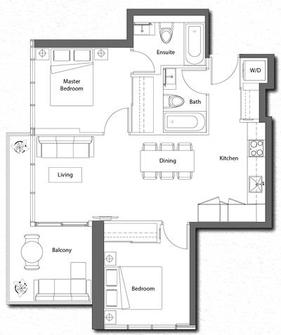 Suite 06 Floorplan 1