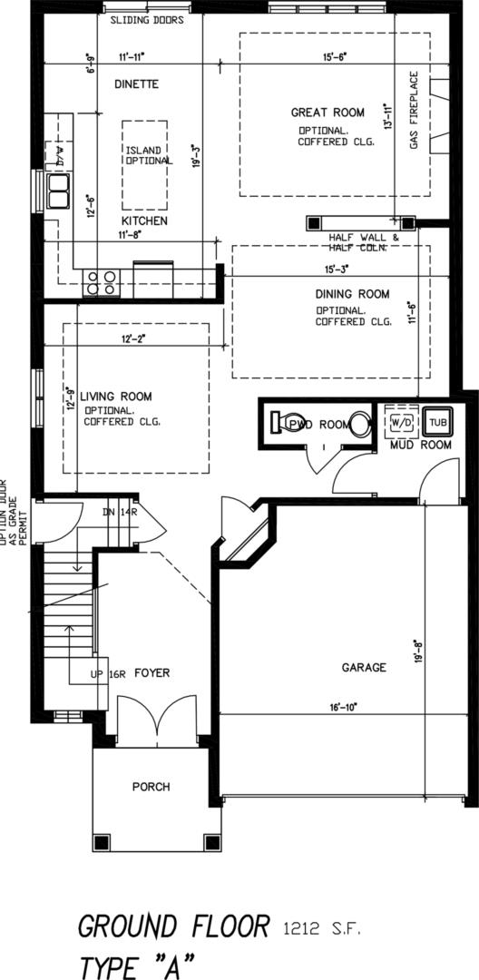 The Stone Ridge Floorplan 1