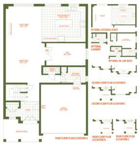 The St, Andrew Floorplan 1