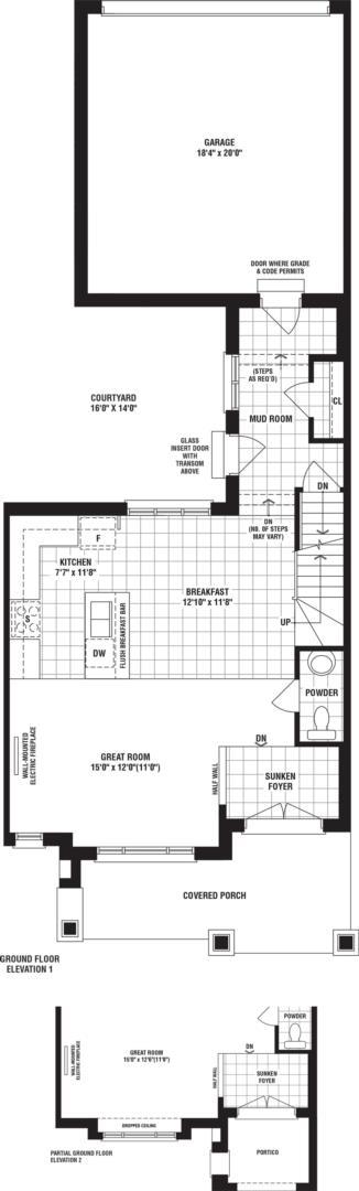 Redfinch 2 Floorplan 1