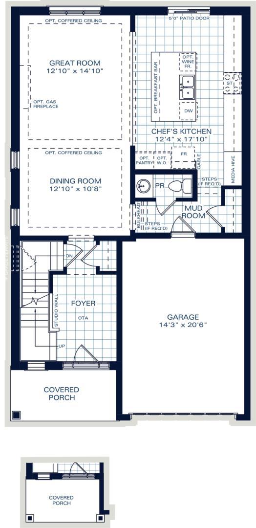 The Oxford B Floorplan 1