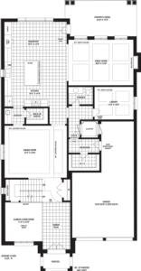 Fourteen Mile Creek Floorplan 1