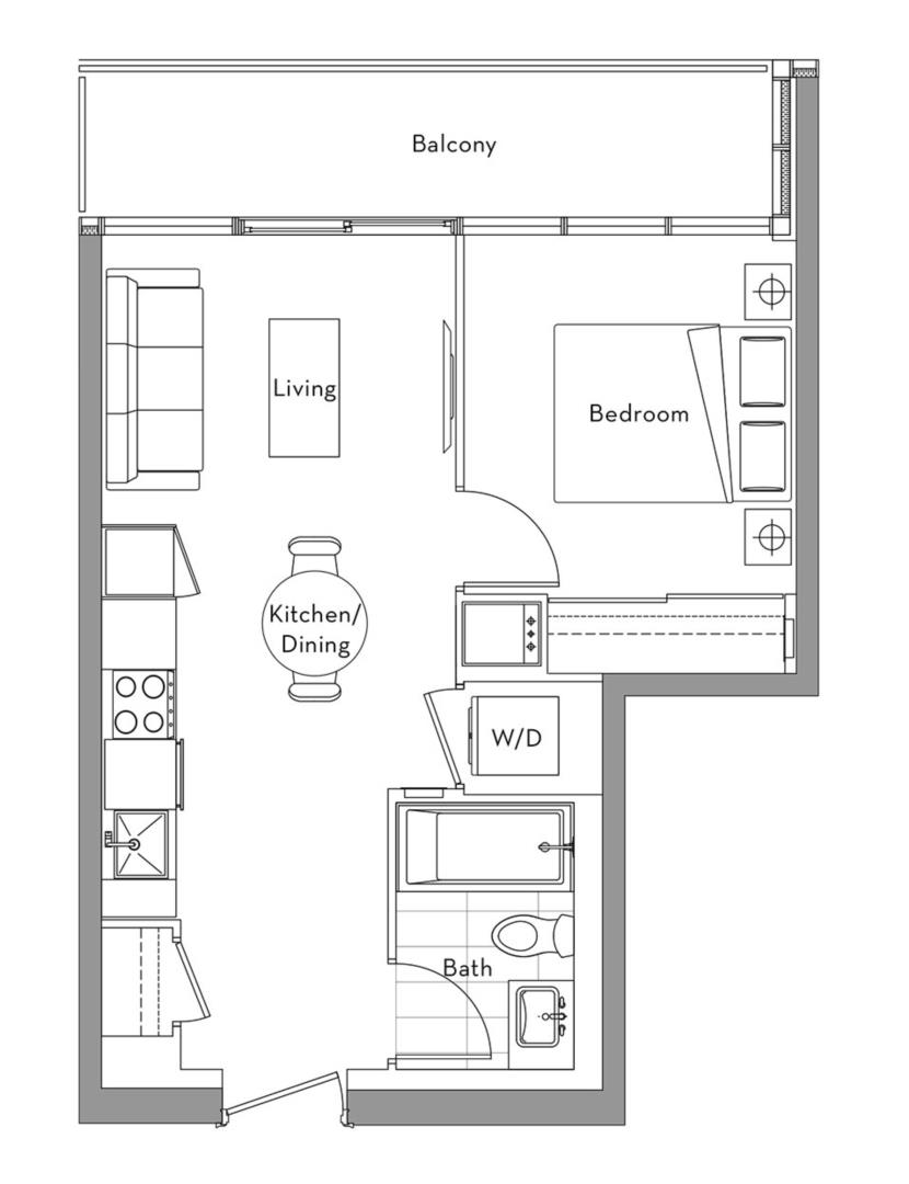 The Lakefront Collection - 009 Floorplan 1