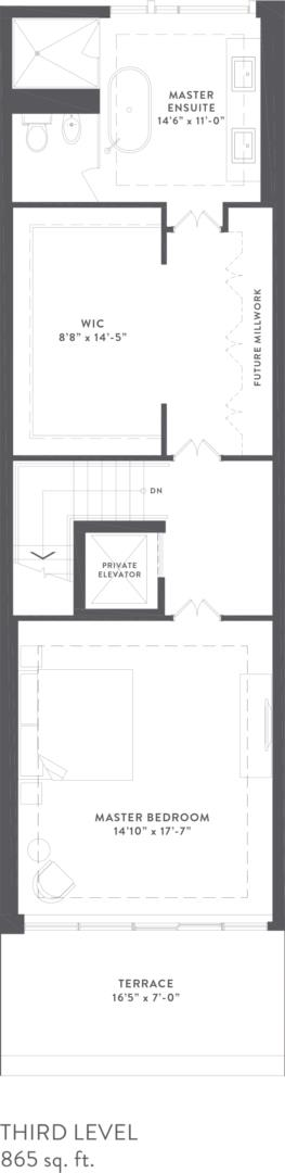 Townhome Collection A Floorplan 4