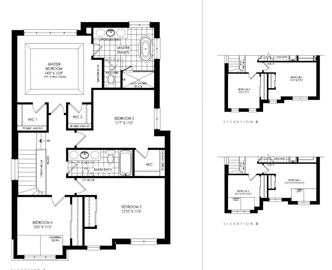 Lot 52 - Leith B Floorplan 2