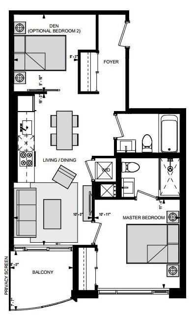 Suite GR Floorplan 1