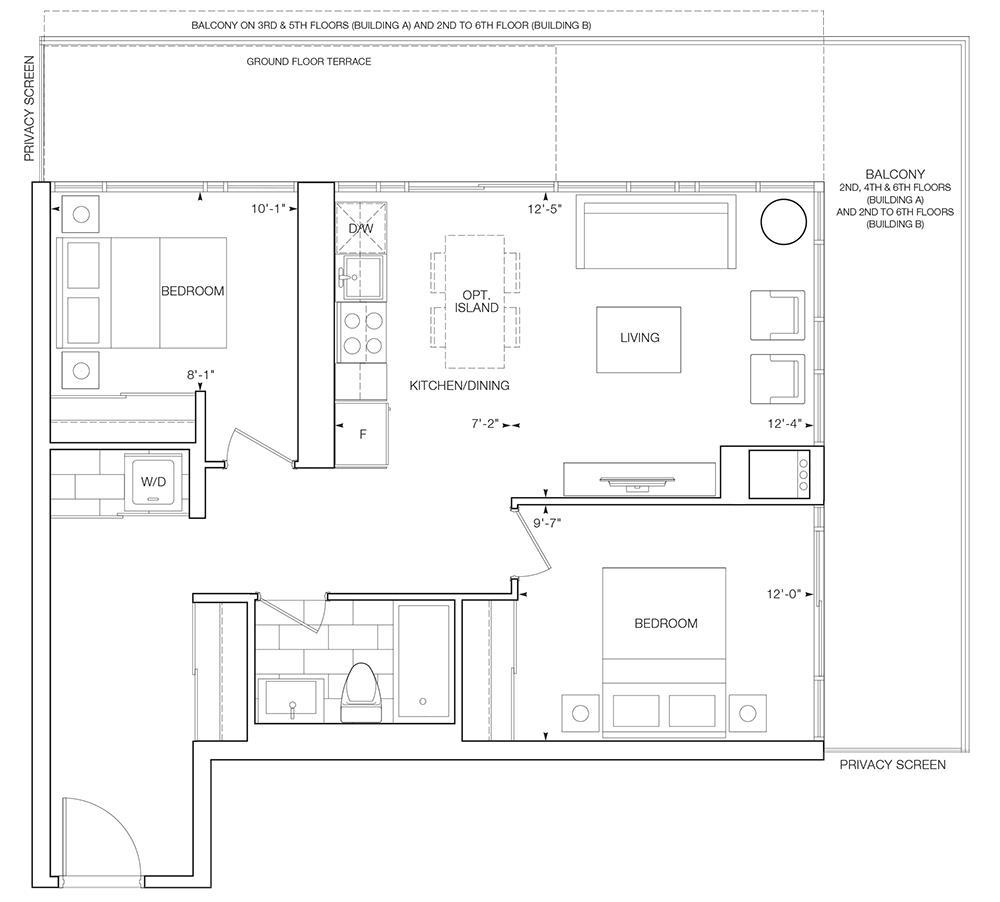Crowne Floorplan 1