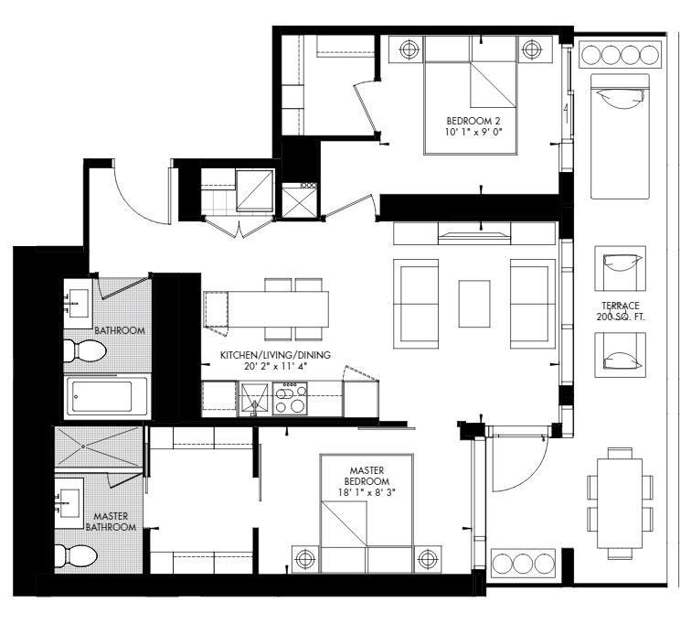 Yorkville 60 Floorplan 1