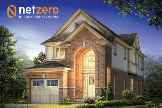 4 Net Zero homes for sale by Reid's Heritage Homes!