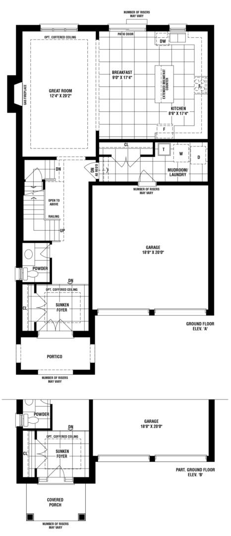 Bronte Creek Floorplan 1