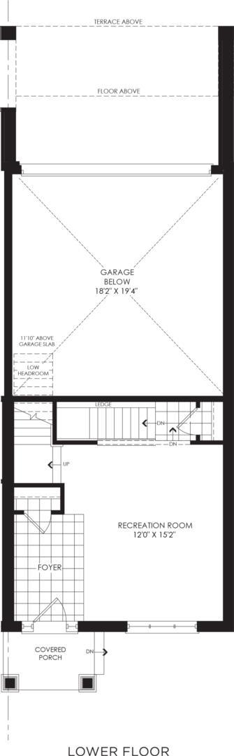 BLOCK 9, ELEV. B3 REV, UNIT 7 Floorplan 1