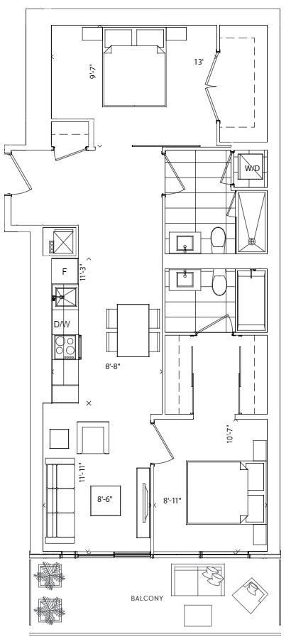 Lakeshore Floorplan 1