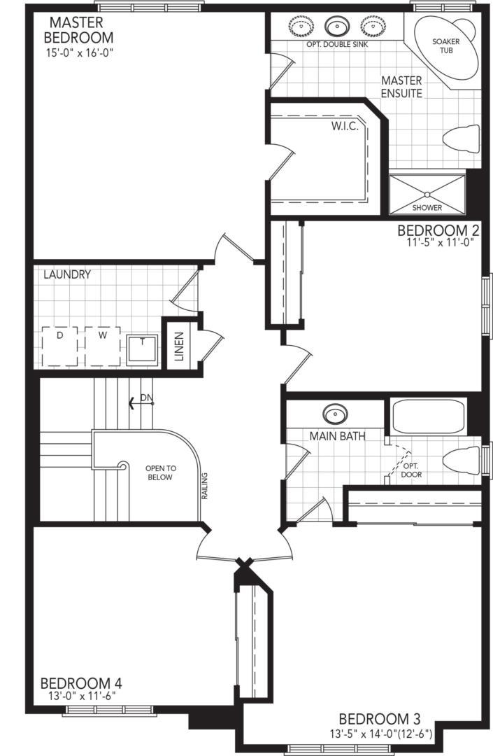 The Allure Floorplan 2