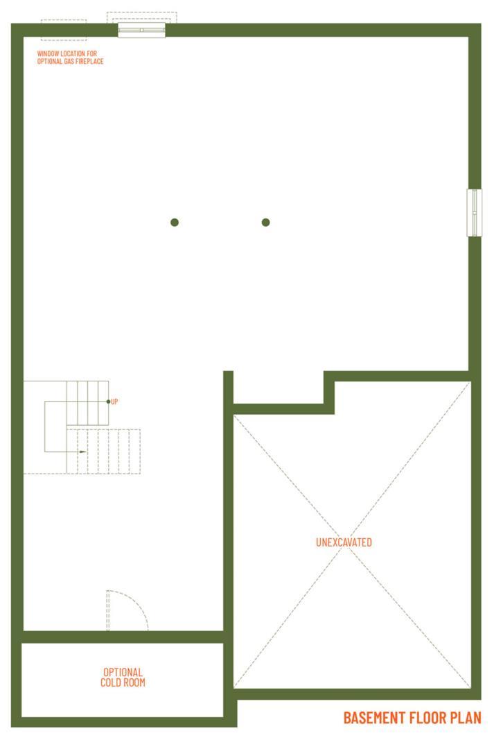 The Muirfield Floorplan 3