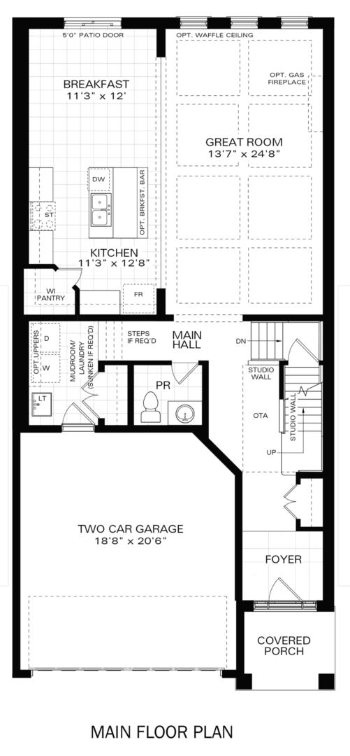 The Kahlo IV A Floorplan 1