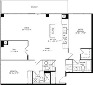 2D-E Floorplan 1