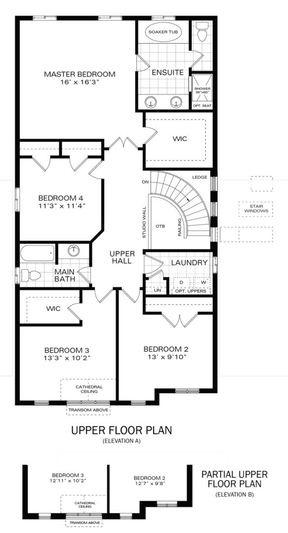The Brockton IV A Floorplan 2