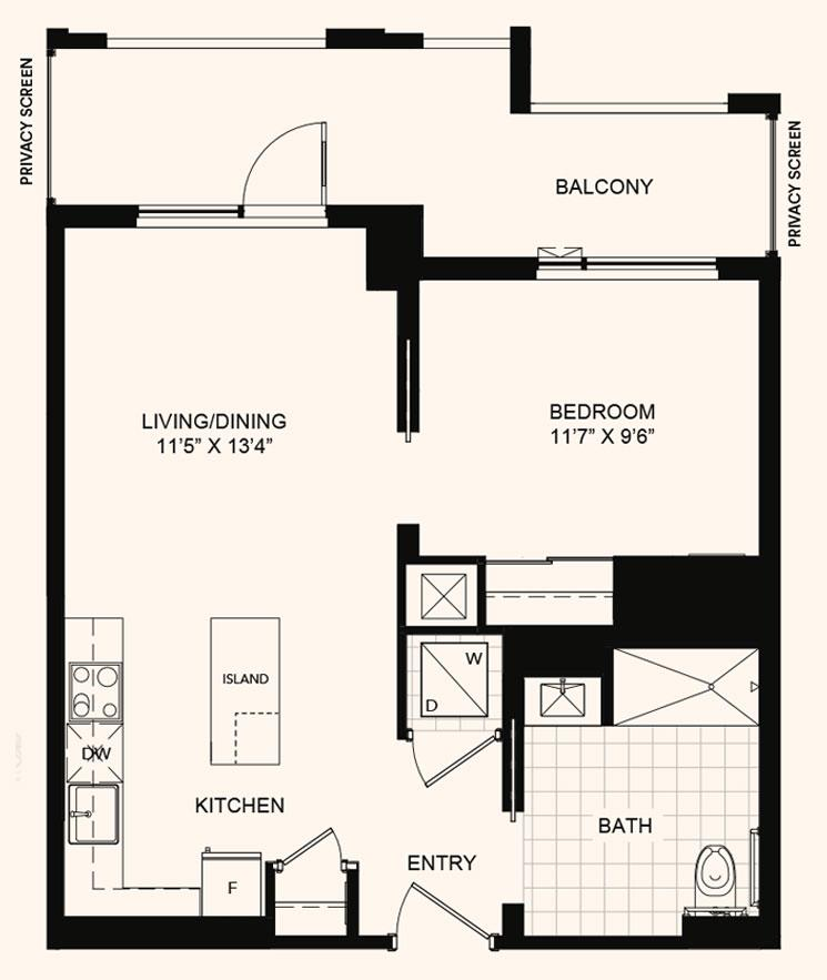 The Beverley Floorplan 1