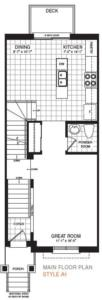 The Breton Floorplan 1