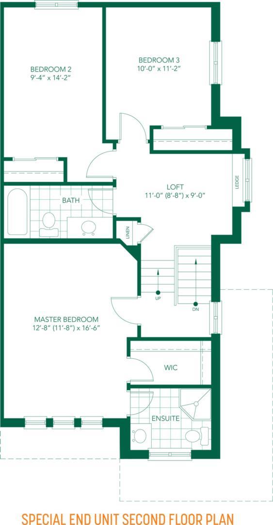 The Parkview Floorplan 5