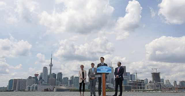Waterfront Toronto receives more than $1 billion in funding to transform the Port Lands Image