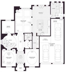 Brilliant Floorplan 1
