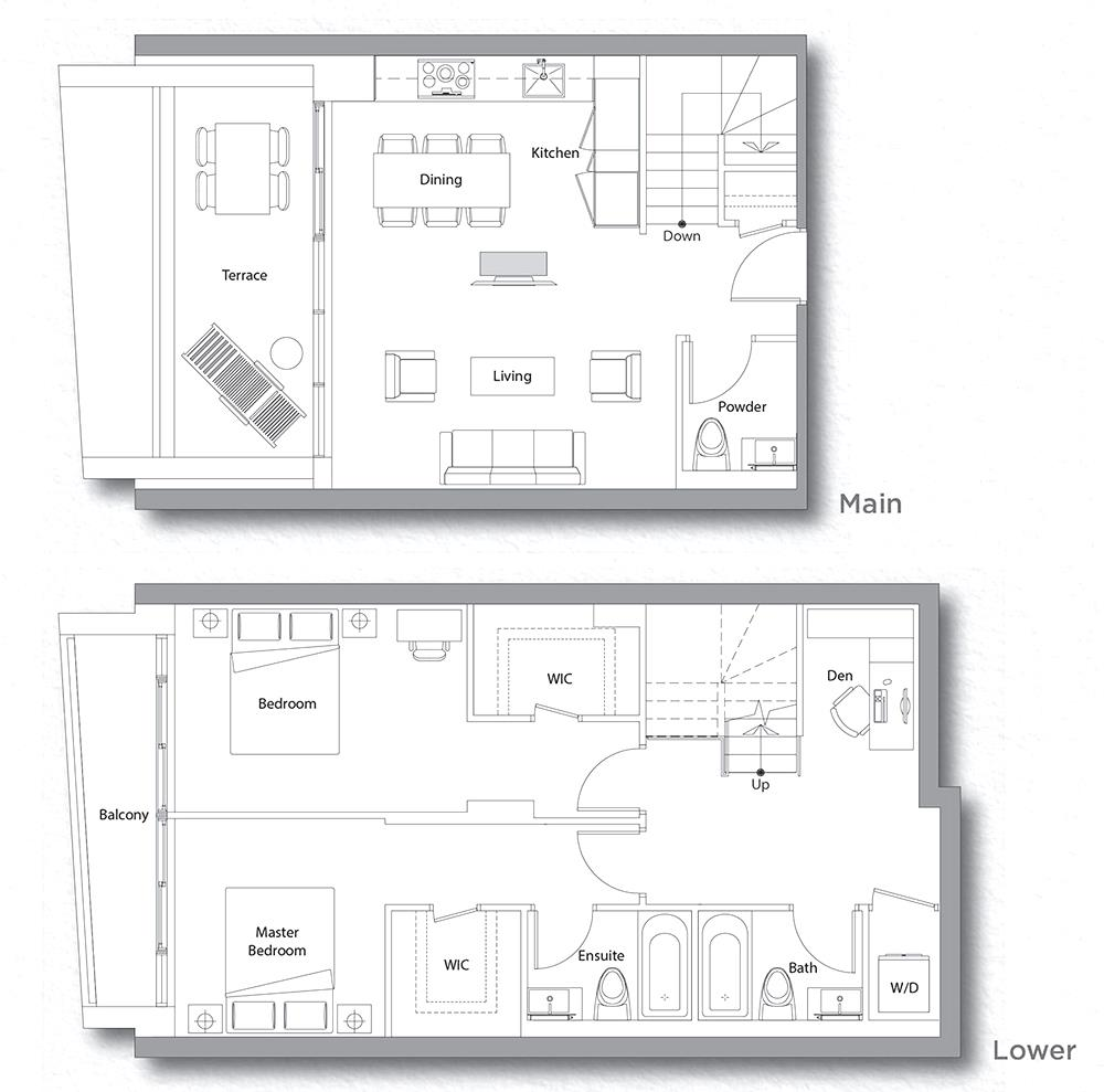 Villa 610 Floorplan 1