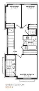The Sherbrooke Corner Floorplan 3