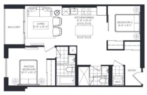 Chesterton West Floorplan 1