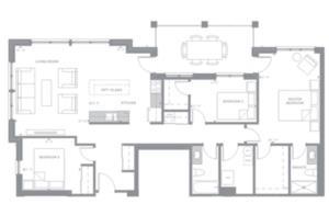Penthouse Floorplan 1