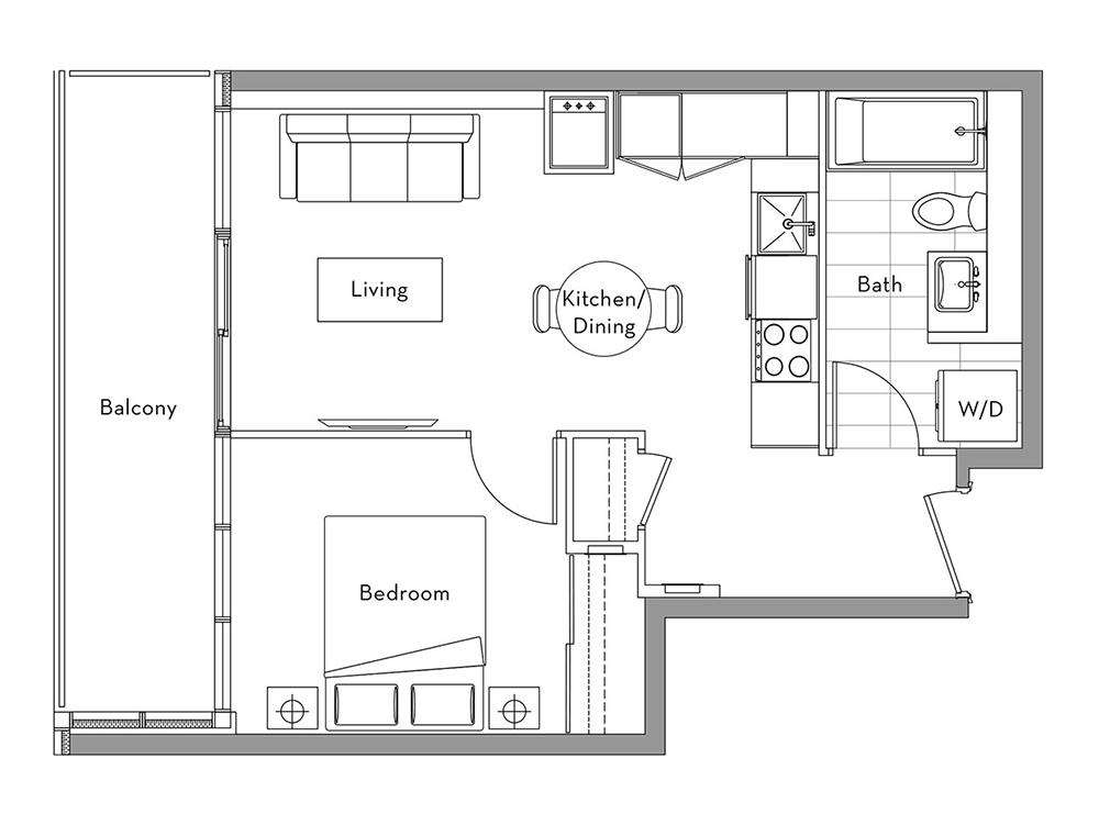 The Lakefront Collection - 003 Floorplan 1