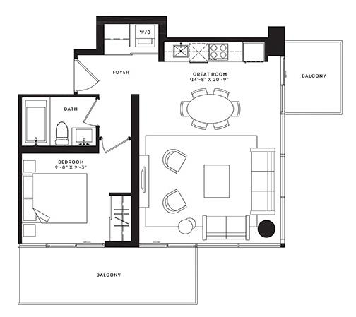 The Manhattan Floorplan 1