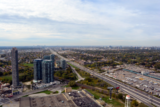 Detached homes in the GTA