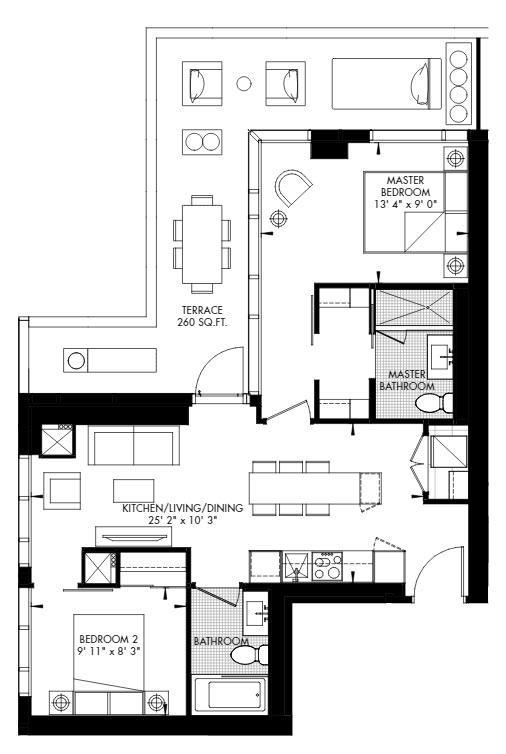 Yorkville 57 Floorplan 1