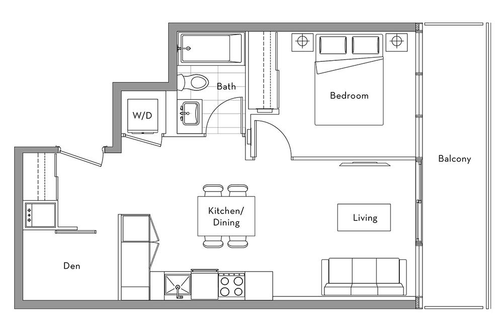 The Lakefront Collection - 011 Floorplan 1