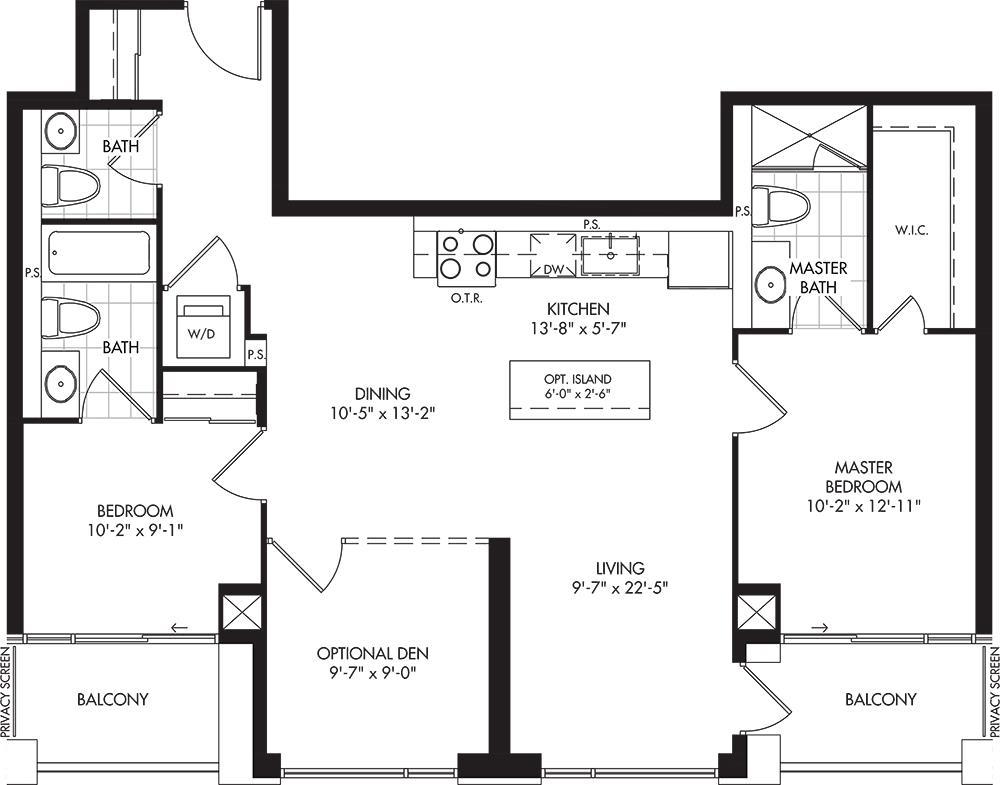 2D-F Floorplan 1