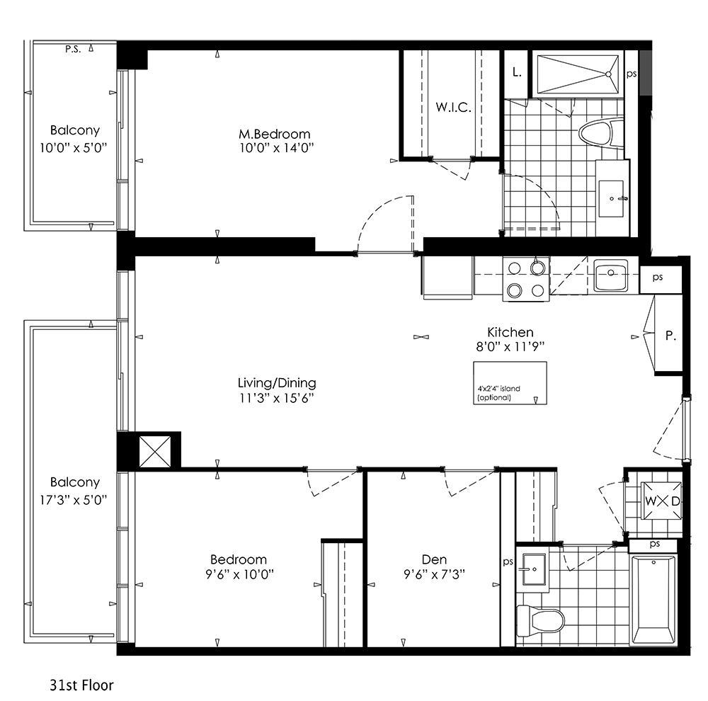 2F+D Floorplan 1