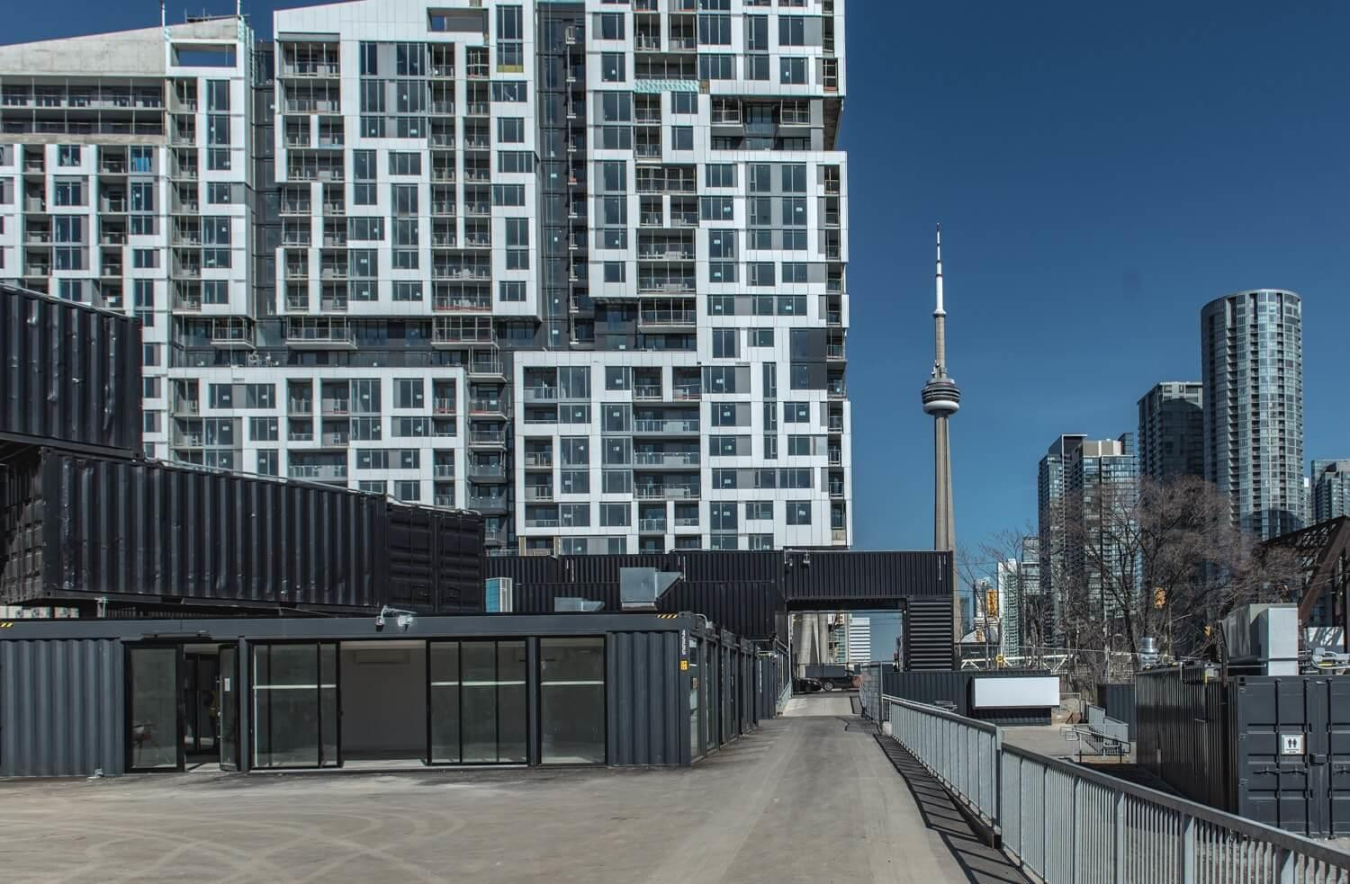 New shipping container market in Toronto now open! Image