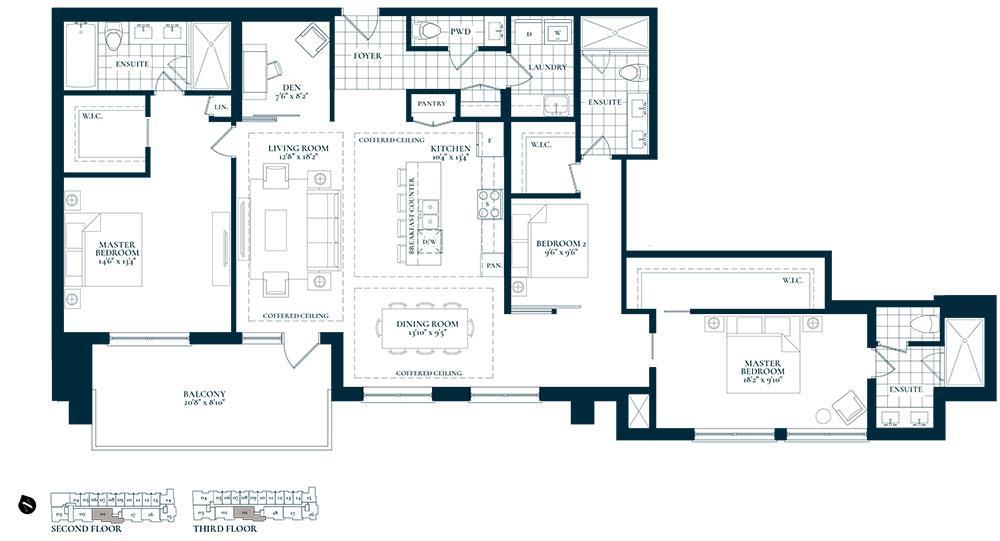 Uptown Floorplan 1